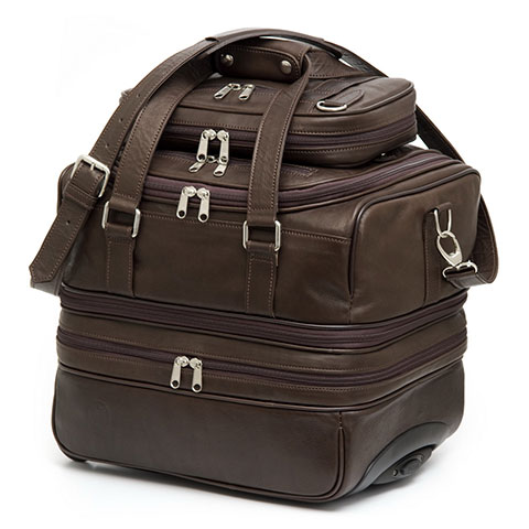 Ceibo hand made leather carryon